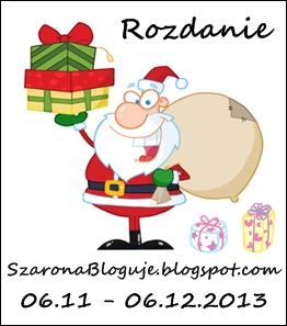 http://szaronabloguje.blogspot.com/2013/11/rozdanie-niespodzianka-mikoajki-2013.html
