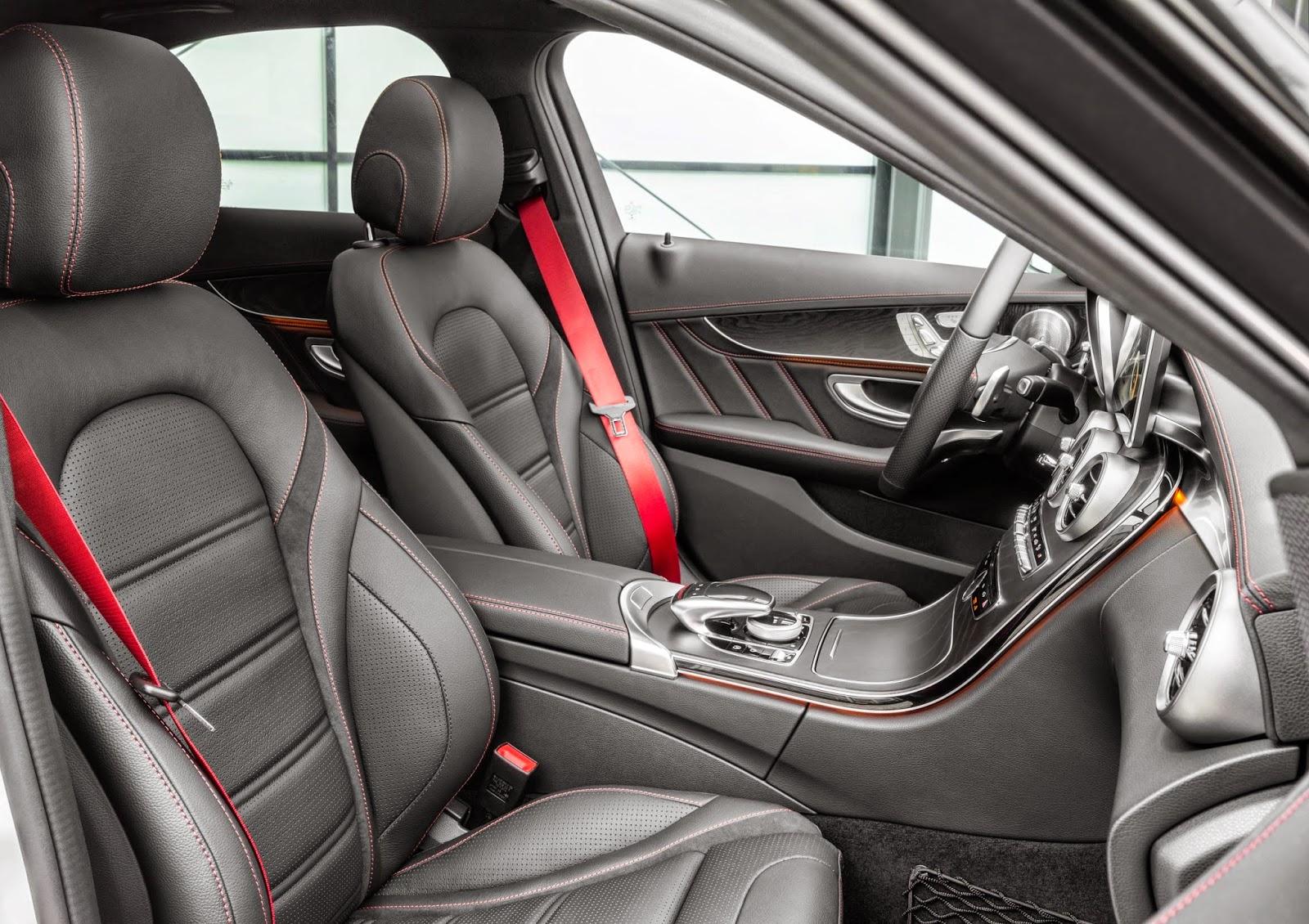 Mercedes Benz C450 AMG interior