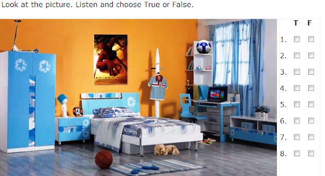 Describing a room   videos and interactive exercises. English is FUNtastic  Describing a room   videos and interactive