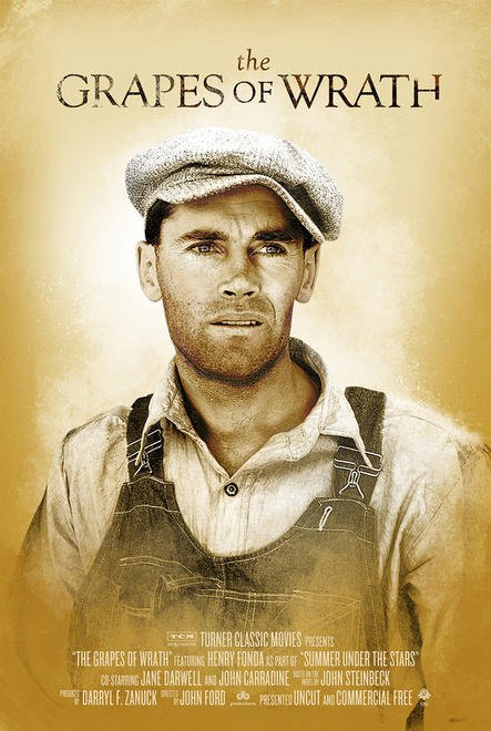 an analysis of the grapes of wrath the people and the depression in the movie
