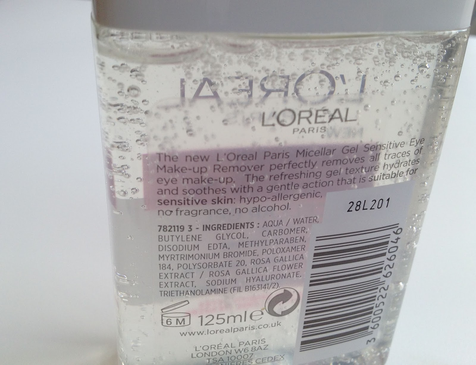 L'Oreal Skin Perfection Micellar Gel
