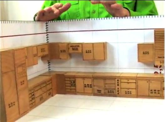 Muebles de cocina para armar de papel imagui for Planos muebles de cocina para armar