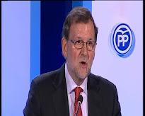 """ESPAÑA: Rajoy: """"Por fortuna ya conocemos a los protagonistas de la nueva política"""""""