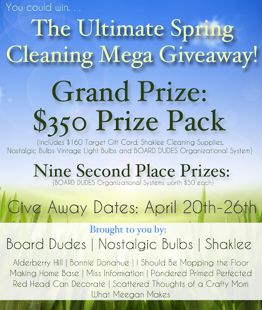 spring cleaning FINAL The Ultimate Spring Cleaning Mega Giveaway
