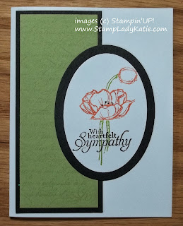 Card made with Stampin'UP! Hostess Set: Simply Sketched