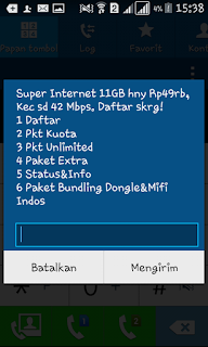 Bagaimana cara Check Kuota Internet Indosat