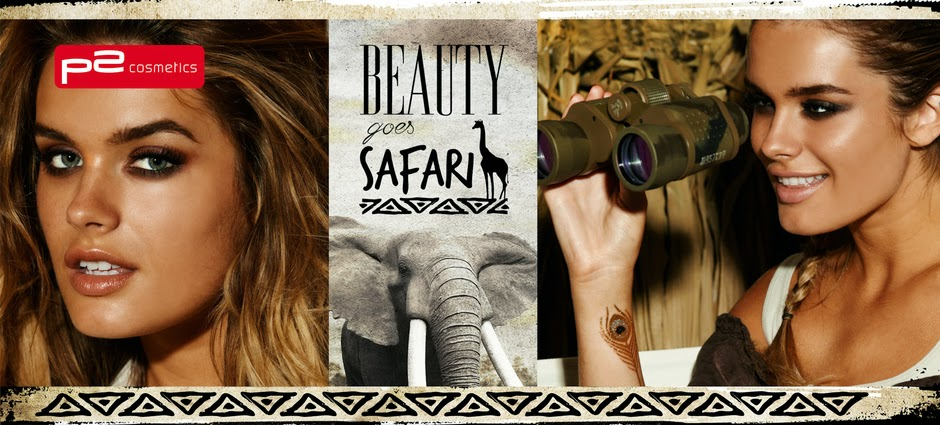 Preview: p2 Limited Edition: Beauty goes Safari - www.annitschkasblog.de