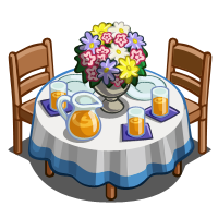 FarmVille Spring Table