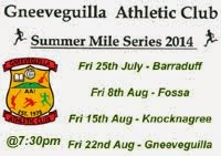 Fri 27th July...1 mile race in Barraduff, Kerry