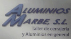 PATROCINADOR ALUMINIOS MARBE
