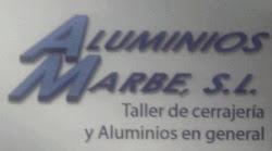PATROCINADOR ALUMINIOS MARBE