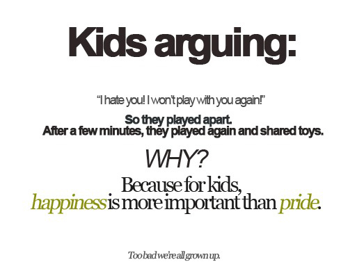 Happiness & Pride - Life Lessons From Kids' Behavior