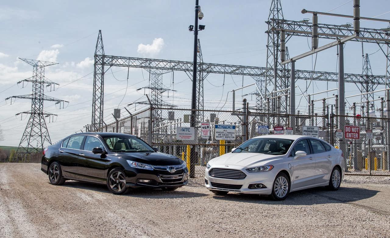 Ford fusion hybrid vs honda accord hybrid for Ford fusion vs honda civic