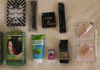 iherb, naturtint, elf, queen helene, beauty, haul, makeup