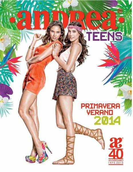 catalogo andrea 2014 calzado juvenil PV