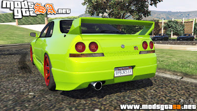 V - Nissan Skyline BCNR33 [Beta] para GTA V PC