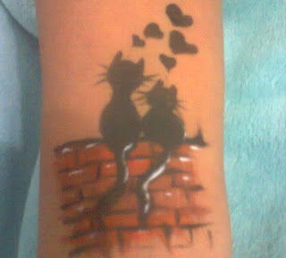 Tatuagem artística Infantil