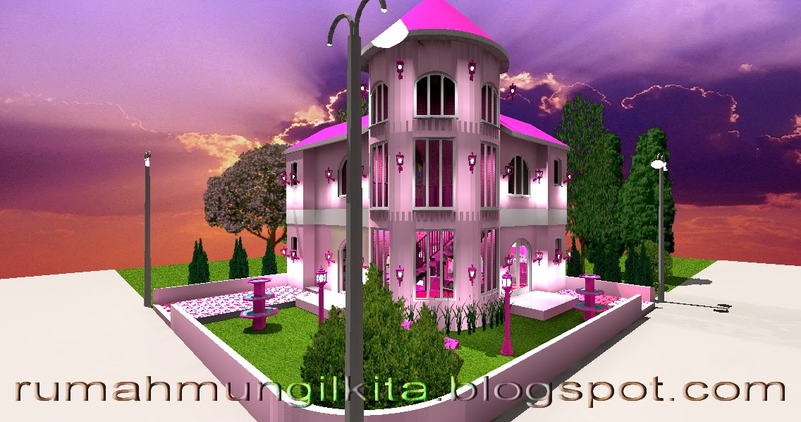Real Barbie Dream House Castle