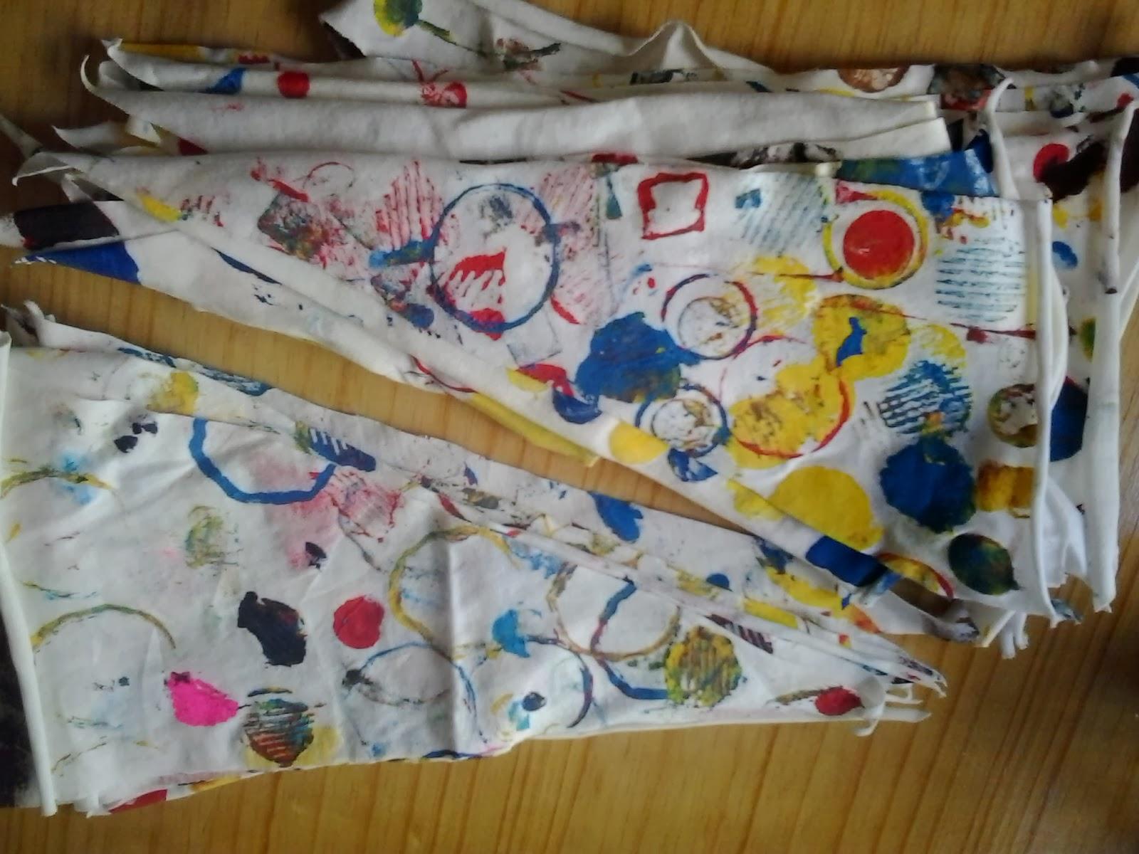 banderines con diseño
