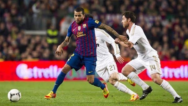 FC Barcelona vs Real Madrid 2-2 Copa del Rey 2012