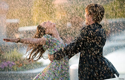 dancing in the rain high school musical troy gabriella cute tumblr