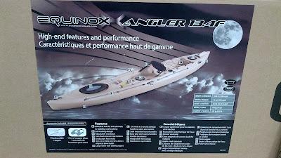 Equinox 13.4F Angler Fishing Kayak: small and compact