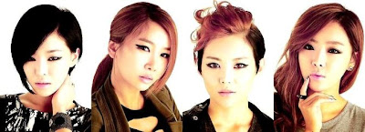 Brown Eyed Girls BEG members Gain Jea Miryo Narsha
