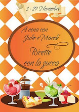 A cena con Julie e Marek, ricette con la zucca