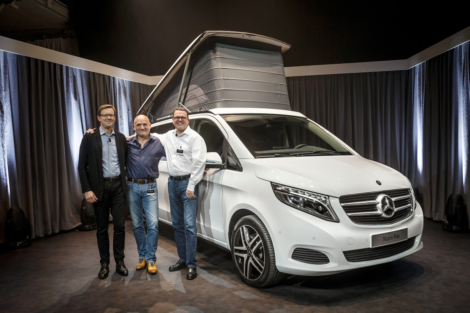 Mercedes benz marco polo and marco polo activity new for Mercedes benz recreational vehicles