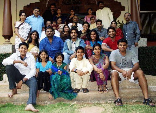 Chiru's big family
