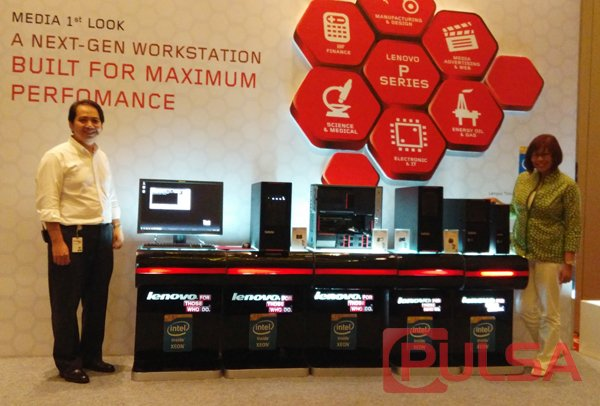 Lenovo Meluncurkan Tiga Model ThinkStation P Series