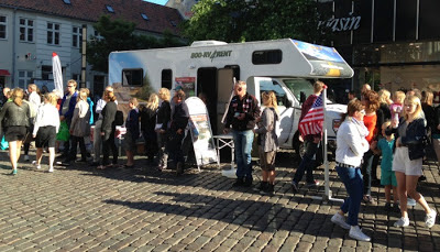 Autocamper dag i Aarhus