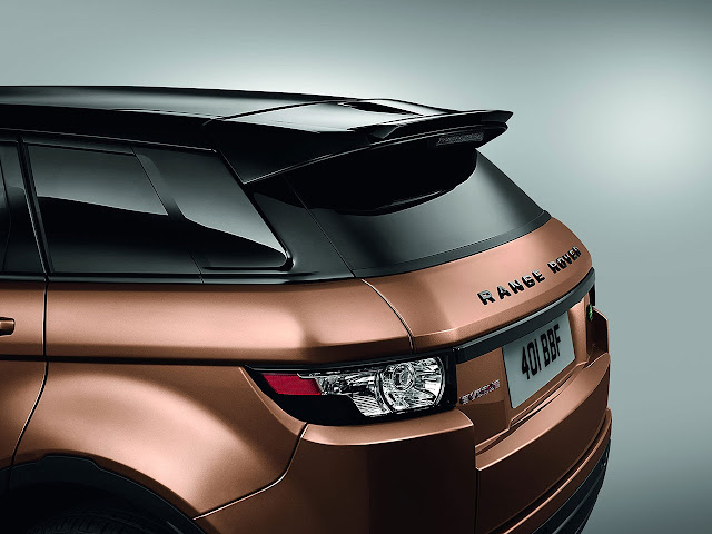 2014 Range Rover Evoque spoiler