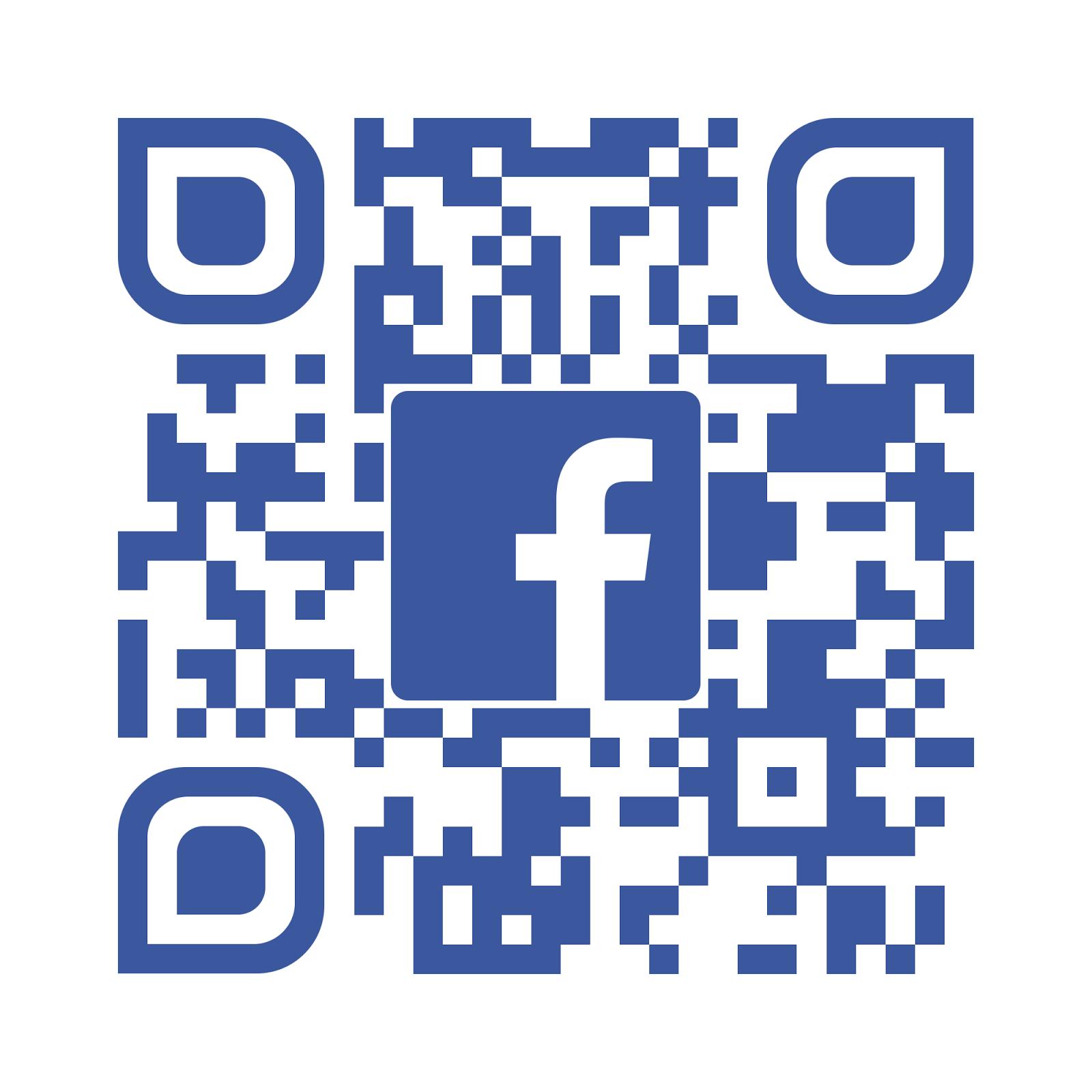 Codigo QR del Facebook