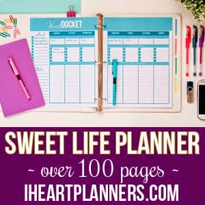 Sweet Life Planner