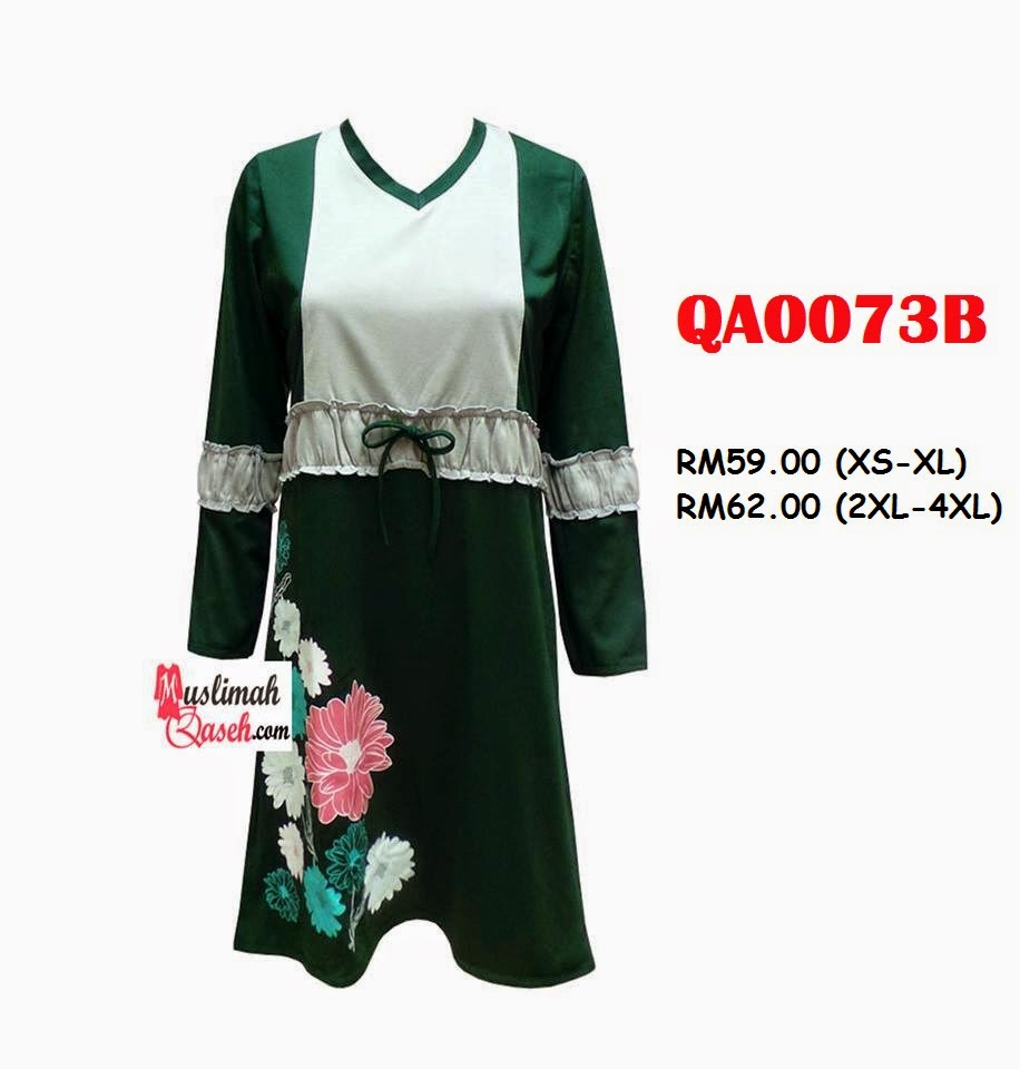 T-Shirt-Muslimah-Qaseh-QA0073B