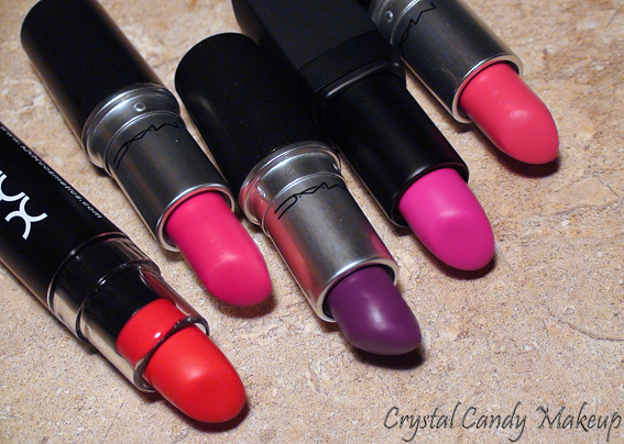 Tendances Printemps 2013 : 5 rouges à lèvres mats - Spring Trends : Matte and bright lipsticks