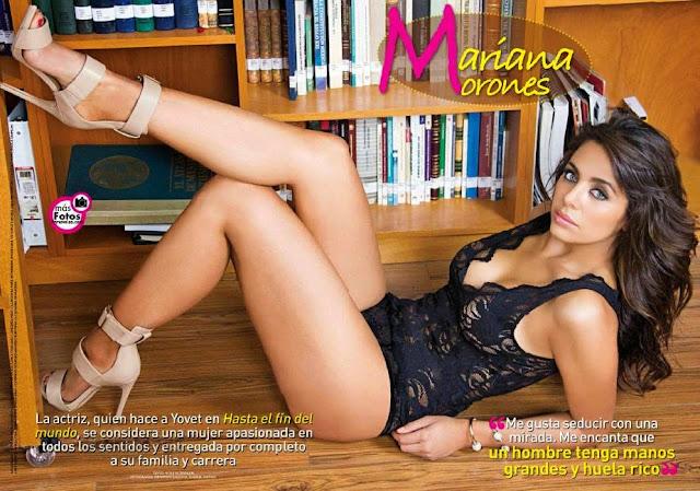 FOTOS: Maríana Morones Revista SuperClick TvyNovelas