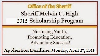 2015 Melvin C. High Scholarship Application Period Opens (Click Photo)