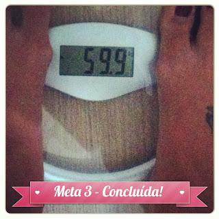 Alguém me belisca? Eu peso menos de 60kg!!