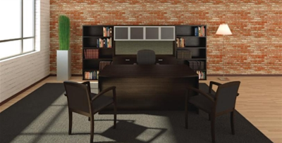 Amber Series Executive Workstation by Cherryman