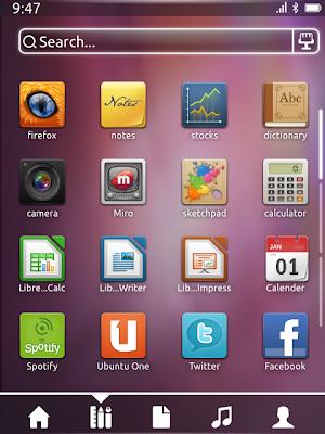 Ubuntu Phone Mobile Concept