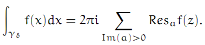 Complex Analysis: #18 Integrating across a Pole equation pic 6