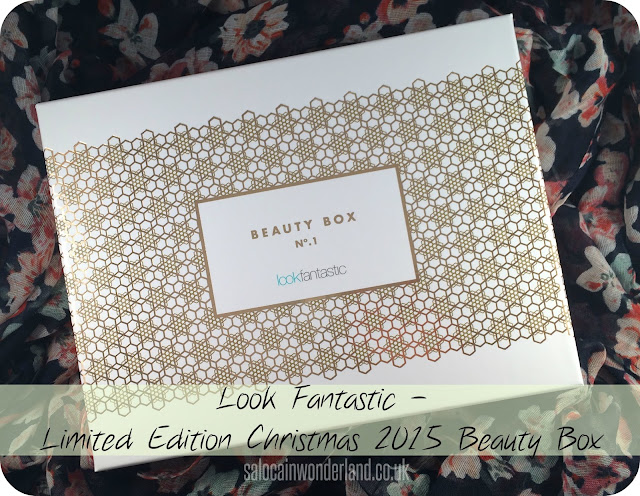 look fantastic limited edition christmas 2015 beauty box