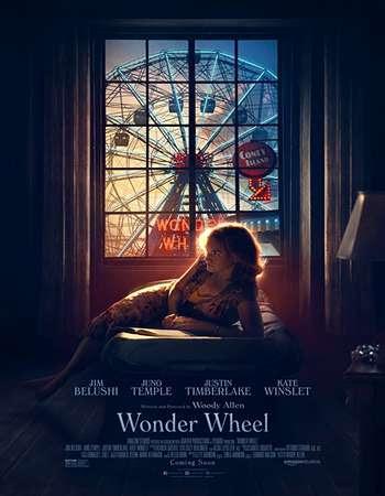 Poster Of English Movie Wonder Wheel 2017 Full DVDScr Movie Free Download Watch Online