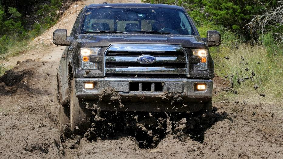 2015 Ford F-150 pickup first drive