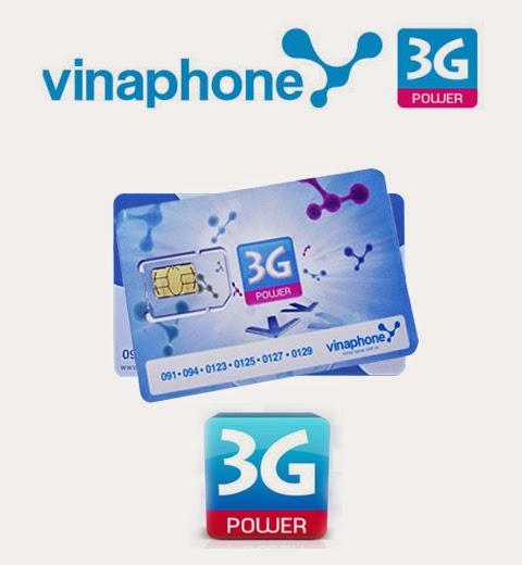 Sim 3g vinaphone khuyến mãi 4Gb