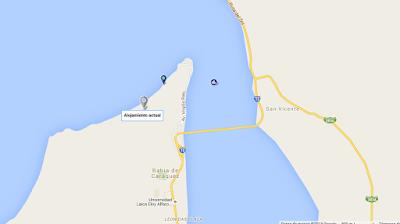 mapa como llegar - Villas en Ecuador Alojamiento en Ruta del Sol - La Bella Vista Bahía