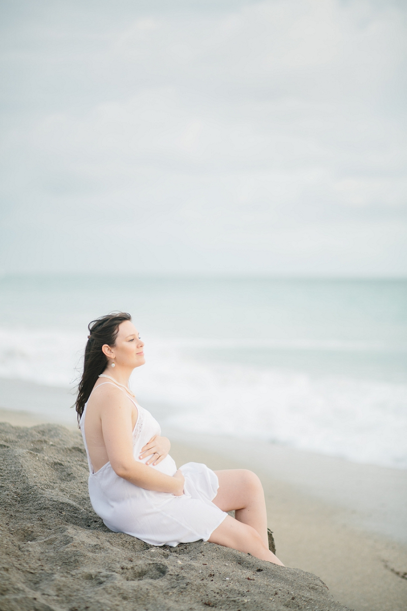 palm beach maternity photography