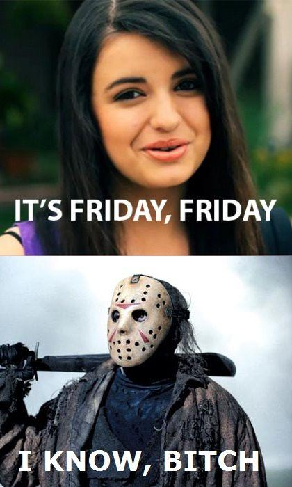 Rebecca Black encontra Jason Voorhees